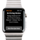 Running a Recipe on Apple Watch